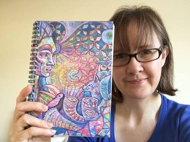 Emma Goodson notebook