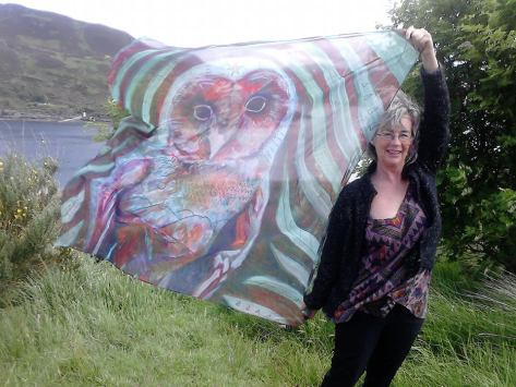 Fiona MacLean Owl scarf