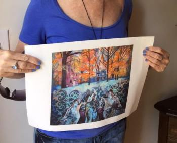 Martha Gandelman print