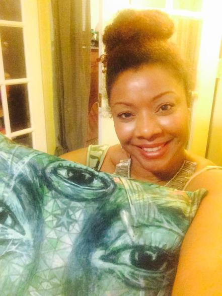 Monica Hall pillow