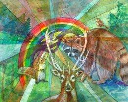 The Rainbow Cocoon